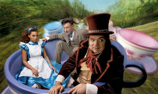 Lyle Lovett Beyonce Knowles Oliver Platt Alice in Wonderland animatedfilmreviews.filminspector.com
