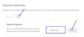 cara pembayaran VPS dengan paypal