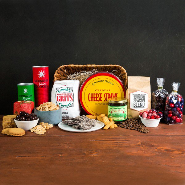 Chapel Hill-founded Southern Season is celebrating its 40th anniversary this year. Great place for foodie gifts online at Southerseason.com