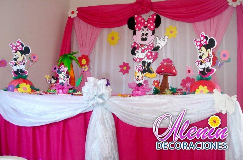 Minnie Decoraciones Fiestas Infantiles ~ Decoraci?n de Minnie Mouse para fiestas infantiles  Imagui