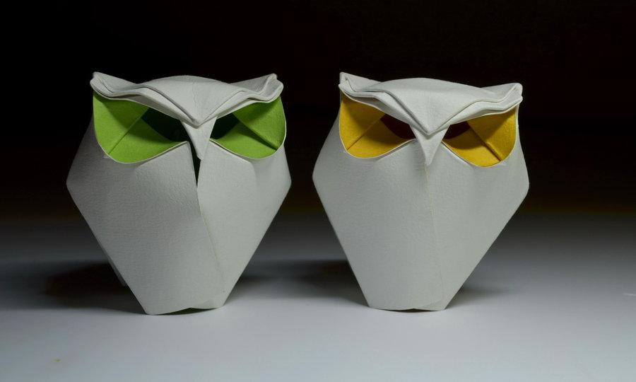 Paper Origami Owl