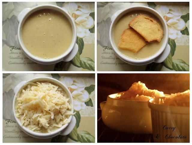 Sopa de Cebolla - Preparación