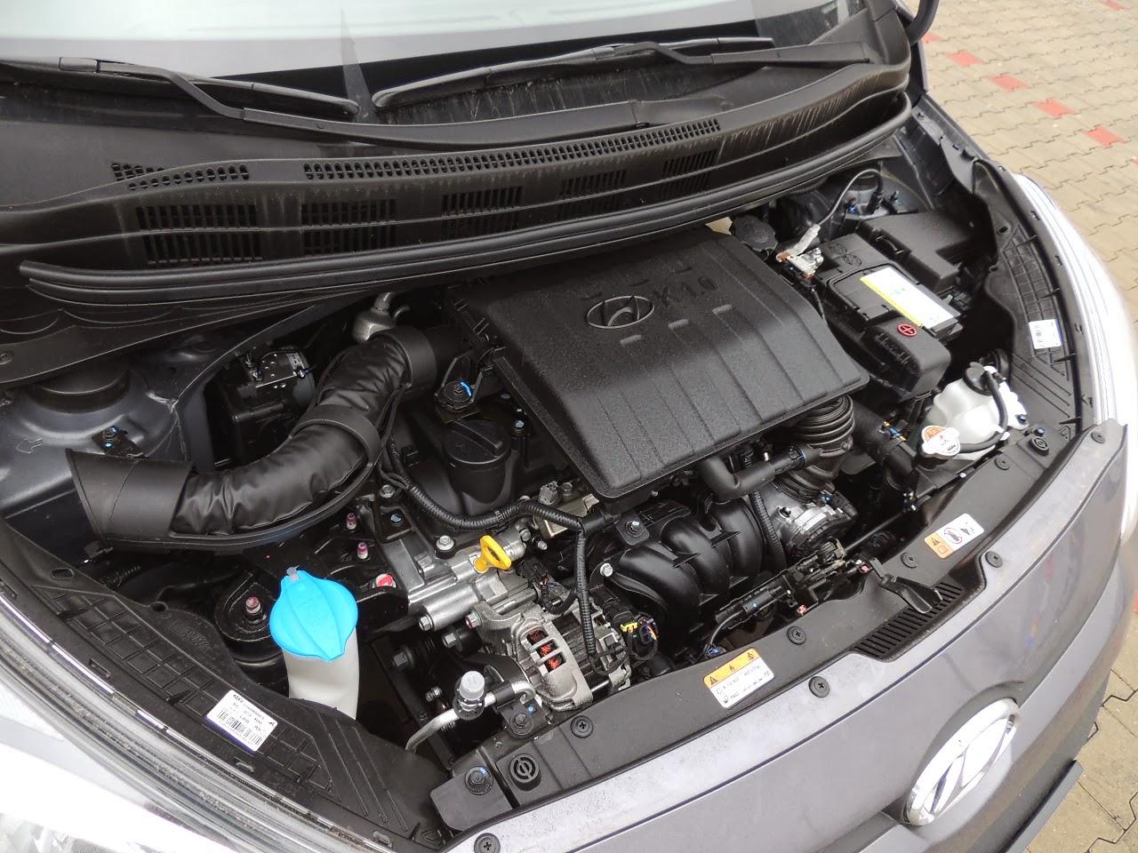 Hyundai i10 - silnik 1.0 Kappa