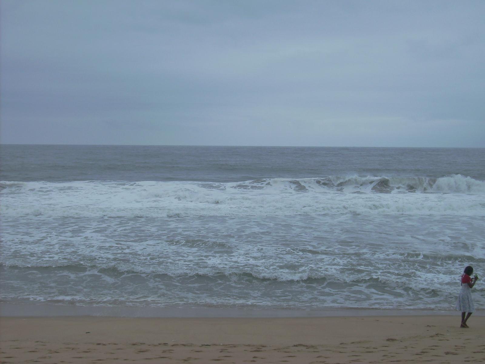 Mar en Abiyán (Costa de Marfil, agosto 2010)