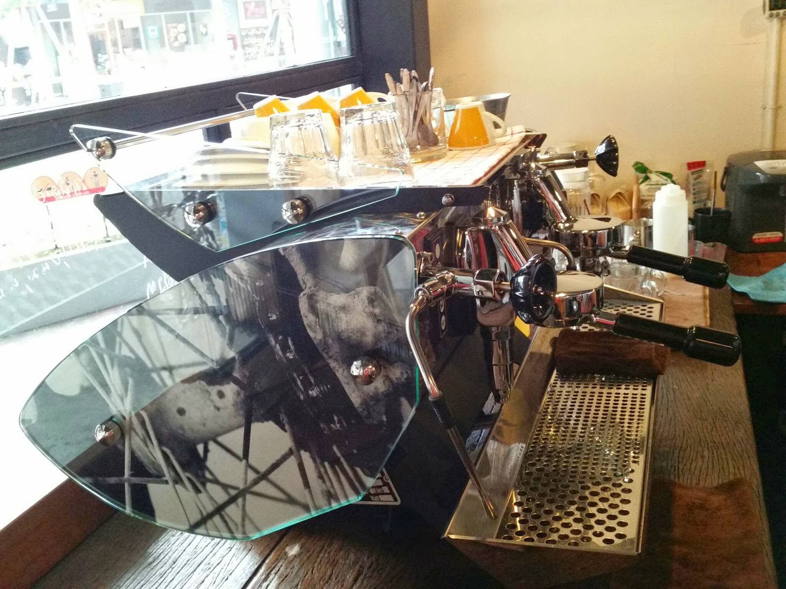 Mirage Espresso machine