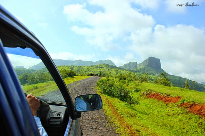 beautiful driving spot near nasik mumbai