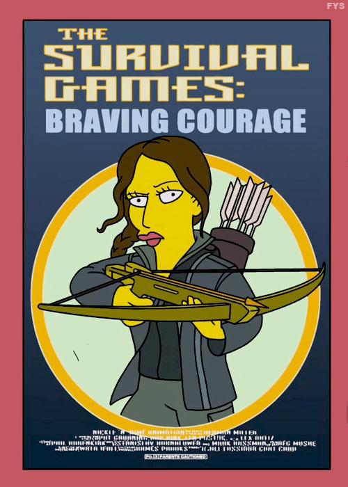 Parodia de Los Juegos del Hambre en la serie animada de Los