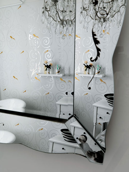 Aksesoris keramik kamar mandi modern oleh vinda ho t