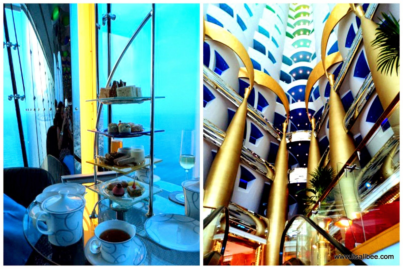 Dubai | A Visual Diary - Dubai Marina Burj AL Arab High Tea