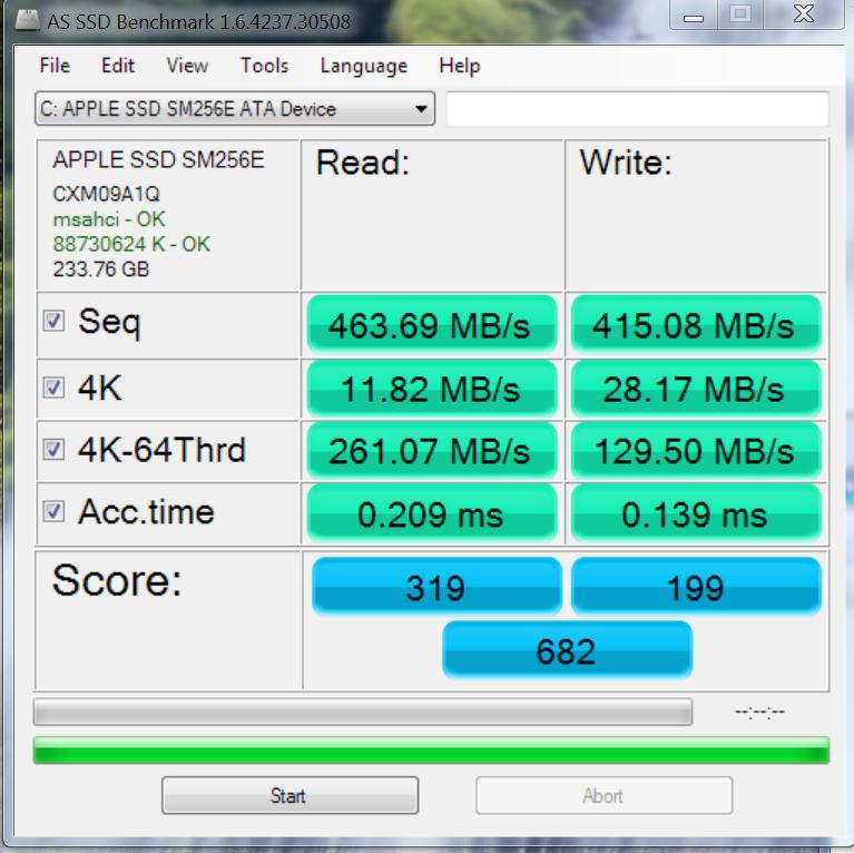 ssd macbook pro retina 2012 , 2013