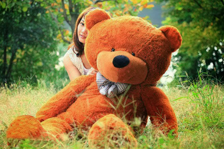girl with teddy bear happy teddy day sms for wife gf bf husband.jpg