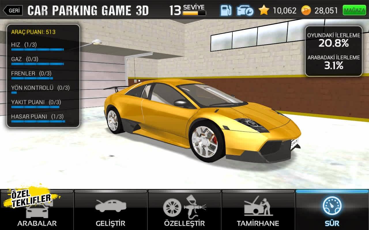 Car Parking Game 3D v1.00.006 Mod Apk Full İndir