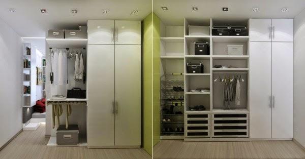 Khu vực tủ đồ cạnh phòng ngủ