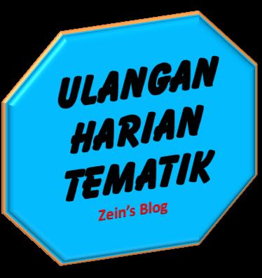 Latihan Ulangan Harian Kelas 1 Tematik Tema 1 Sub Tema Aku Merawat Diriku Sendiri Mister Zain