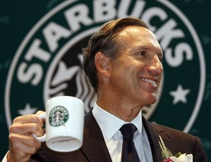 Howard Schultz, de Starbucks
