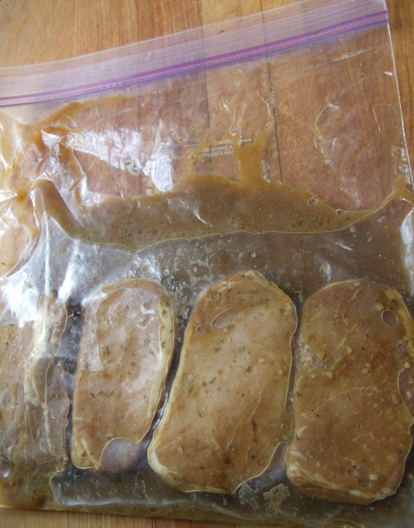 Simple Savory Marinated Pork Chops A Make Ahead Freezer Recipe