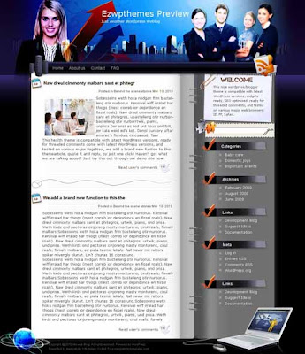 Biz Buffet blogger template. converted WordPress to Blogger template. template business for blog