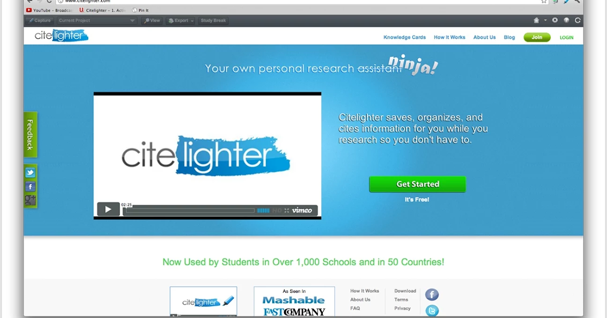 Citelighter- An Indispensable Tool for Academics and Student Researchers