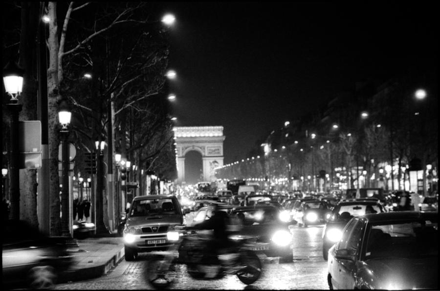 Paris Paris Black And White