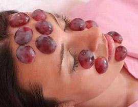 Mask_grapes - استخدمى قناع العنب للحصول على بشرة مشدودة