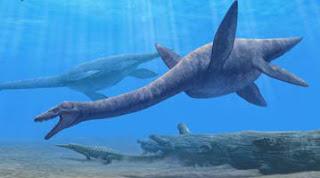 Plesiosaurus - Binatang Purbakala