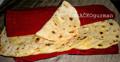 recept za indijski kruh, kruh recept, čapata, naan, indijski kruh, indijska hrana