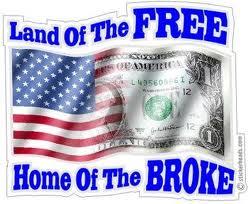 Wonder why we are broke?
