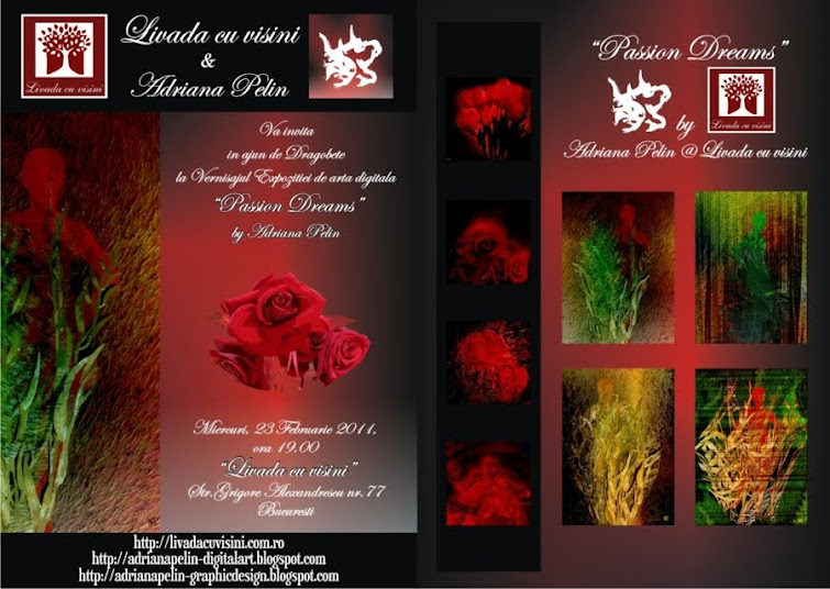 """PASSION DREAMS"" Exhibition at ""Livada cu visini"", February 23, 2011"
