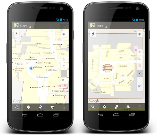 indoor Google Maps your guide