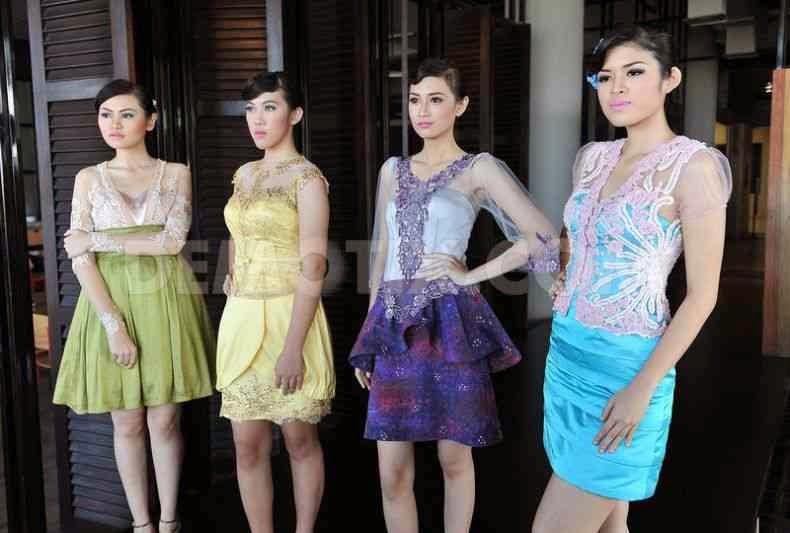 ... Baju Kebaya Lengan Pendek Dan Rok Pendek - Trend Baju Kebaya 2015