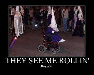 they see me rollin klan member