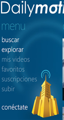dailymotion windows phone video