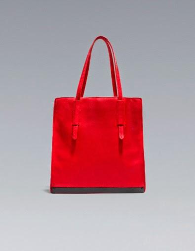 Handväskor Våren 2015 : Fashioncollectiontrend zara v?ska modeller priser