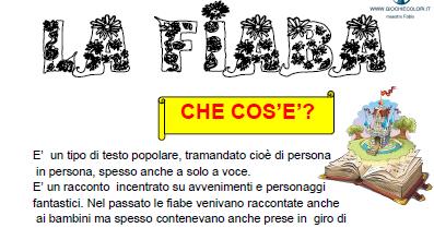 Schede Ed Attività Didattiche Del Maestro Fabio Per La Scuola