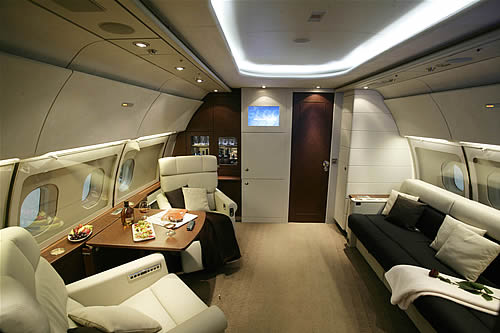 Airplane Interior Design