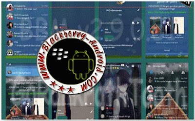 BBM Mod GoRank Path Tooth Transparent v2.9.0.51 Fitur Change Background