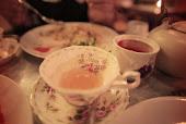 ¿Tea or coffe?