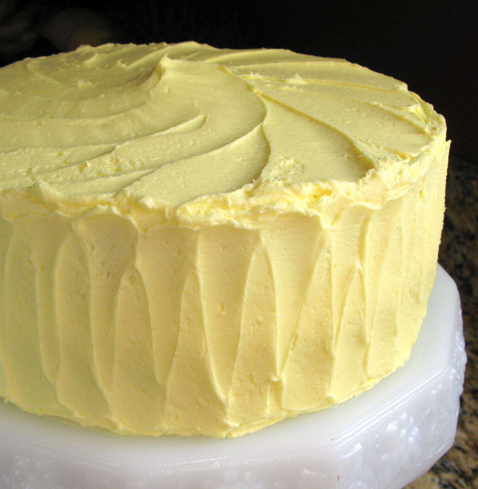 Lemon Buttercream Frosting For Wedding Cake