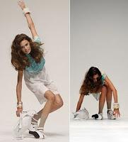 Falling Model: Betty Jackson