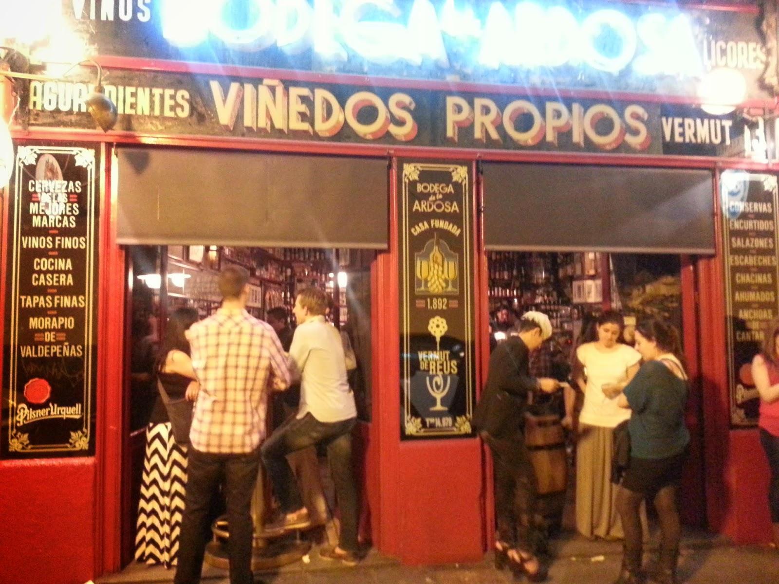 Inspeccion Tabernaria. Chueca. Mercado San Antón.