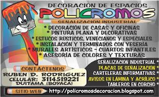 POLICROMOS DECORACION HOGAR