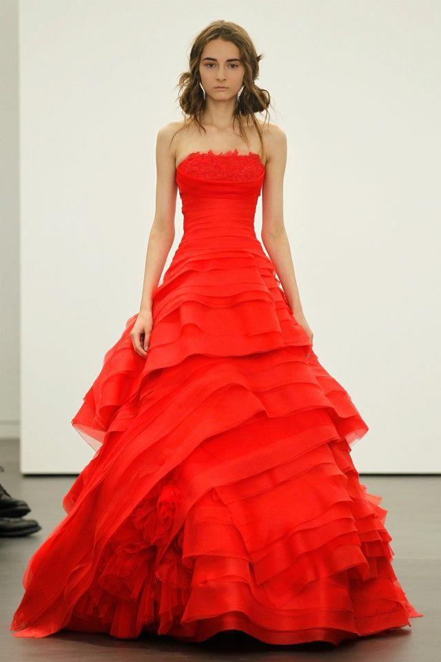 non white wedding dresses for mature brides