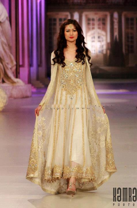 E mag daily a glimpse of pantene bridal couture week 2012 for Pakistani dresses for wedding parties