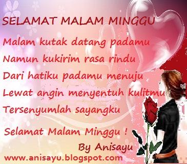 Kumpulan Sms Puisi Ucapan Selamat Malam Minggu Romantis All By Anisayu