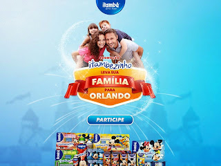 """Promoção """"Itambezinho leva sua família para Orlando"""""""