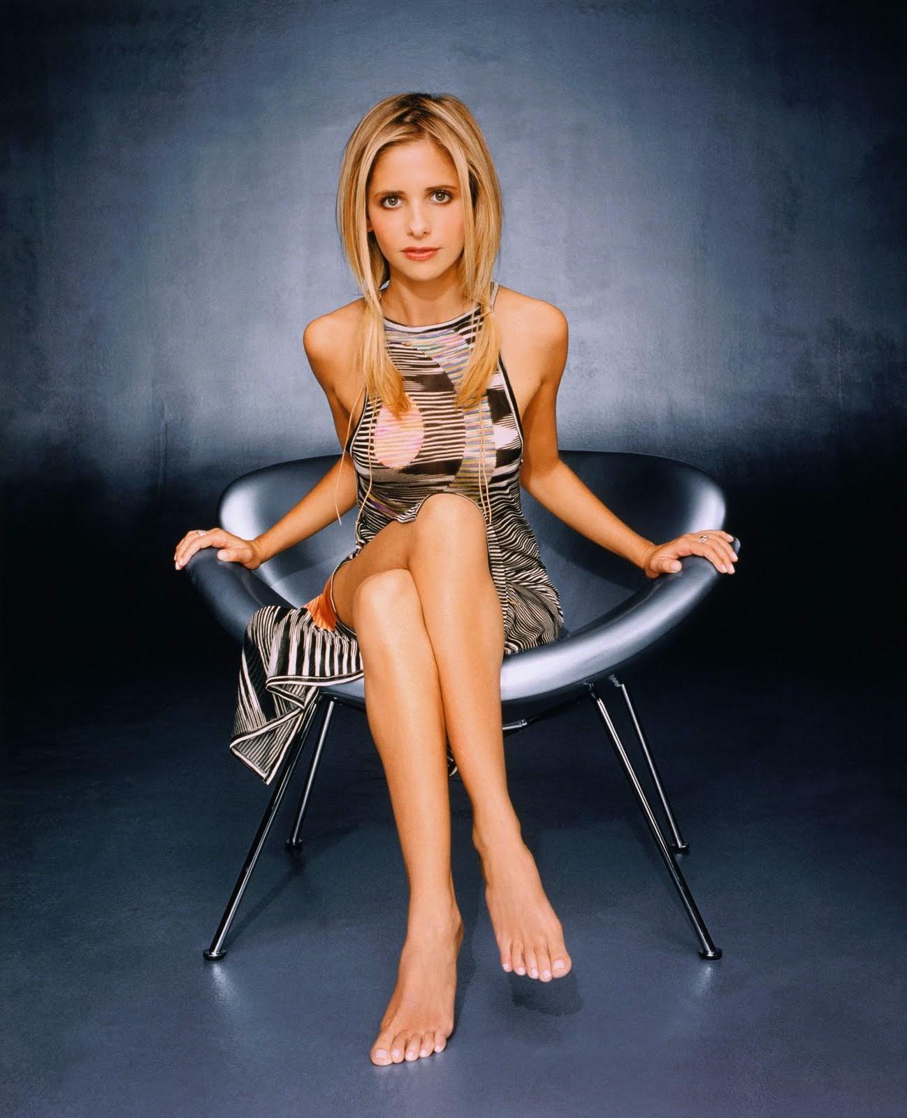 """Barefoot """"Buffy"""".. :)"""