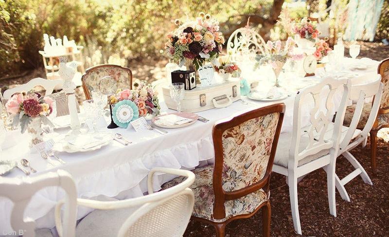 Decoracion Vintage Boda Comprar ~ Con B de Boda  Mesas para tu boda