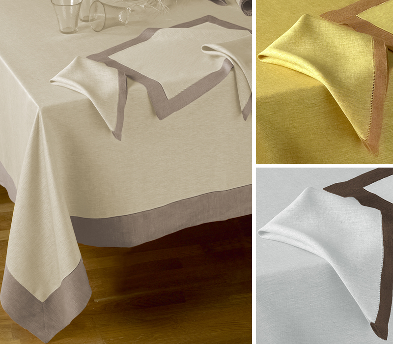 Belvivere Luxury Linens: Every day Fine Table linens (Tuscan cook