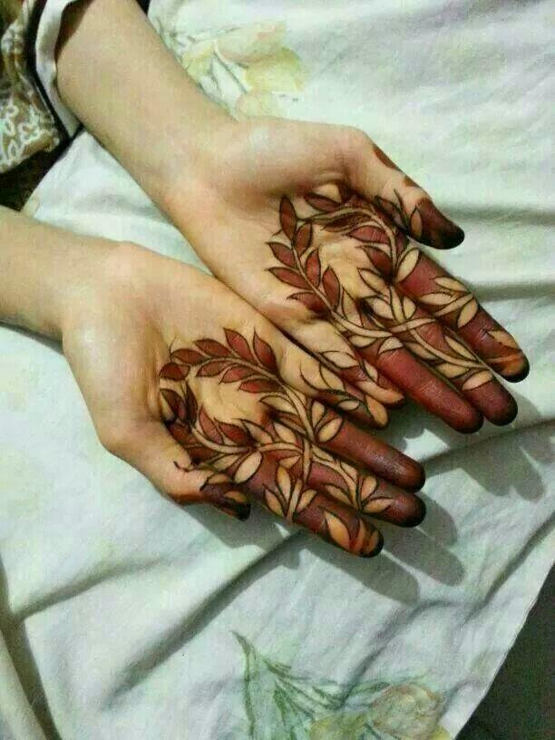 Fingers mehndi design 2015 beauty makeup tips jigartv for Henna tattoo fingers