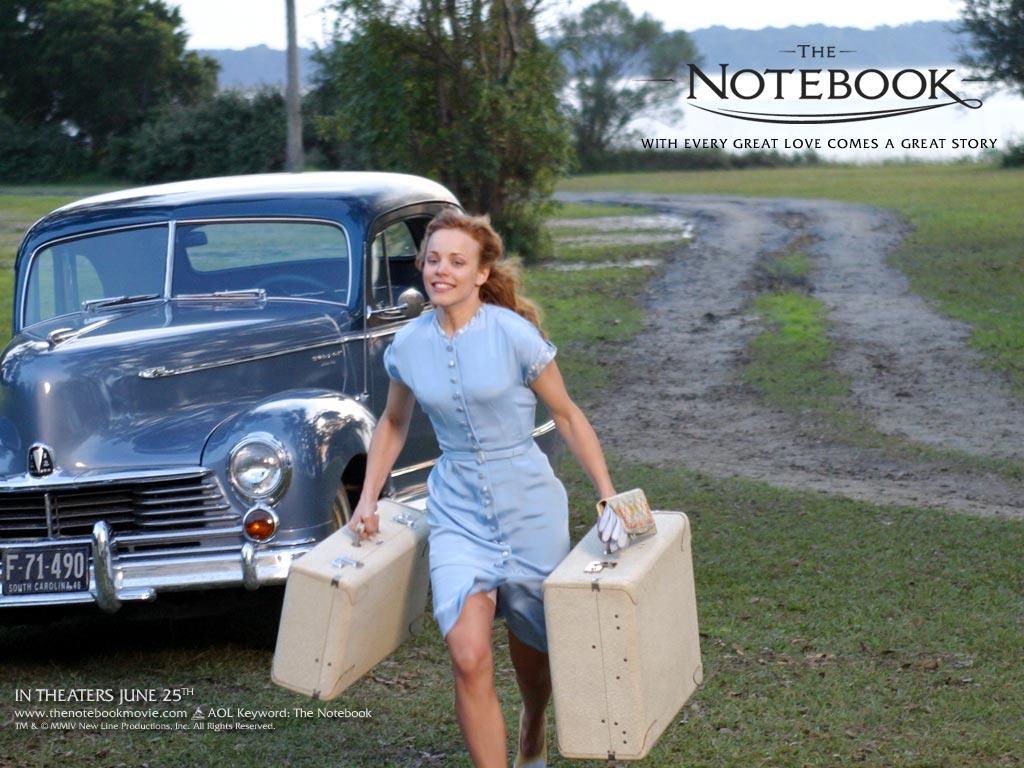 the notebook a film N'oublie jamais est un film réalisé par nick cassavetes avec ryan gosling, rachel mcadams  moi je n'ai pas.